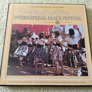 *Vintage Int'l dance classical 3x record bo…